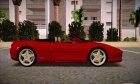 Ferrari F355 Spider for GTA San Andreas rear-left view