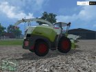 CLAAS Jaguar 870 v2.0 for Farming Simulator 2015 top view