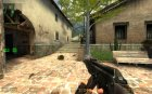 AK-74p for Counter-Strike Source rear-left view