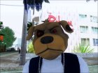 Маска злой собачки for GTA San Andreas top view