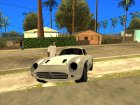 Benefactor Stirling GT для GTA San Andreas вид изнутри