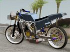 Kawasaki Ninja 150SS Drag Thaistyle for GTA San Andreas rear-left view