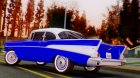 1957 Chevrolet Bel Air Sport Coupe для GTA San Andreas вид слева