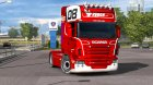 Scania GTM for Euro Truck Simulator 2 top view