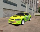 Mitsubishi Lancer Evo 7 (Brian O'connor) for Mafia: The City of Lost Heaven top view