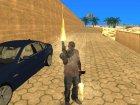 Пак наркоманского оружия by Babayka для GTA San Andreas вид сверху
