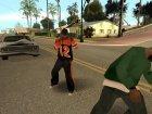 Новое поведение прохожих for GTA San Andreas rear-left view
