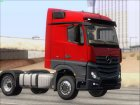 Mercedes-Benz Actros MP4 Stream Space Black  4x2 V2.0 для GTA San Andreas вид сзади слева