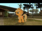 Applejack (My Little Pony) for GTA San Andreas left view