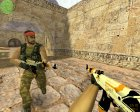 AK-47 Azimov для Counter-Strike 1.6 вид слева