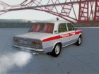 ВАЗ-21011 «Медицинская помощь» для GTA San Andreas вид изнутри