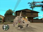 Double Arm Lizard (Zoids) для GTA San Andreas вид слева