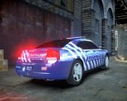 Dodge Charger 2010 Police K9 [ELS] for GTA 4 top view