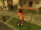 Crash Bandicoot for GTA San Andreas rear-left view