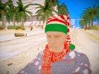 Новогодний игрок из GTA Online for GTA San Andreas top view