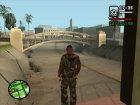 Пак камуфляжной одежды for GTA San Andreas top view