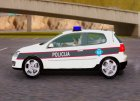 Golf V - BIH Police Car для GTA San Andreas вид сбоку