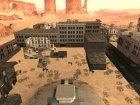 Мёртвый город в пустыне для GTA San Andreas вид сверху