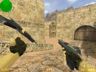 Dual USP for Counter-Strike 1.6 rear-left view