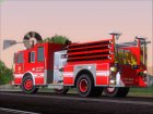 Seagrave Marauder II SFFD Engine 28 for GTA San Andreas rear-left view