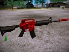 M4A1 for GTA San Andreas left view