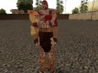 Bloody Kratos from God of War 3 для GTA San Andreas вид слева