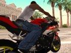 Honda CBR1000RR Yami для GTA San Andreas вид сверху
