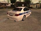 BMW M5 E60 Police LS для GTA San Andreas вид сзади слева