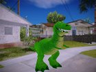 Rex Dinosaur Toy Story for GTA San Andreas left view