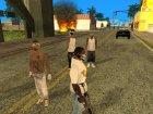 Пак скинов фракций для GTA San Andreas вид сверху