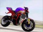 Kawasaki Ninja Zx 6R Stunter для GTA San Andreas вид слева