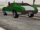 Sabre Turbo GTA 5 для GTA San Andreas вид изнутри