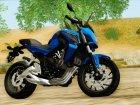 Honda CB650F Azul for GTA San Andreas left view