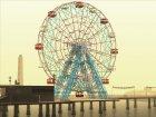 GTA IV Ferris Wheel Liberty Eye для GTA San Andreas вид слева