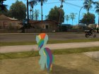 Rainbow Dash (My Little Pony) for GTA San Andreas inside view