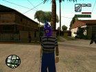 Бандит из Ацтек for GTA San Andreas left view