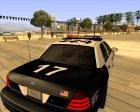Ford Crown Victoria Police Interceptor для GTA San Andreas вид изнутри
