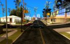 Новые дороги во всем San Andreas for GTA San Andreas left view