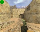 Engraved Desert Eagle (Серебренный) для Counter-Strike 1.6 вид изнутри