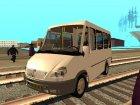 Пак машин БАЗ для GTA San Andreas вид сбоку