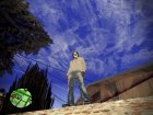 Модные джинсы для GTA San Andreas вид сбоку