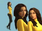 Model Poses v.1 для Sims 4 вид сверху