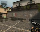Ак-47 Black for Counter-Strike Source right view