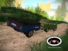 "МАЗ 8114 ""Зубрёнок"" (прицеп) for GTA San Andreas rear-left view"
