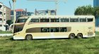 Marcopolo Paradiso 1800 DD - Swiss Post for GTA 5 left view
