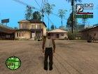 """Кожаные штаны """"Анархиста"""" для GTA San Andreas вид слева"""