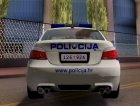 BMW M5 - Croatian Police Car для GTA San Andreas вид справа