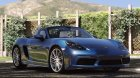 Porsche 718 Boxster S for GTA 5 top view