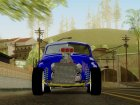 "ГАЗ М20 ""Победа"" для GTA San Andreas вид сверху"