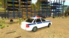 "ВАЗ 2170 ""Полиция"" for GTA 4 rear-left view"